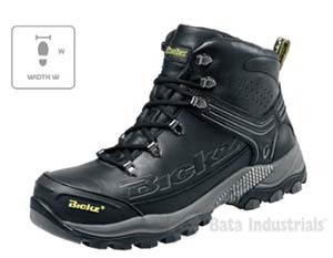 munkavédelmi biztonsági cipő, bakancs, gépi hímzés