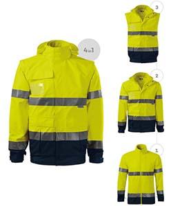rimeck láthatósági munkaruha kabát, mellény, polár, mellény hímzés, emblémázás, beszerzés, logózás